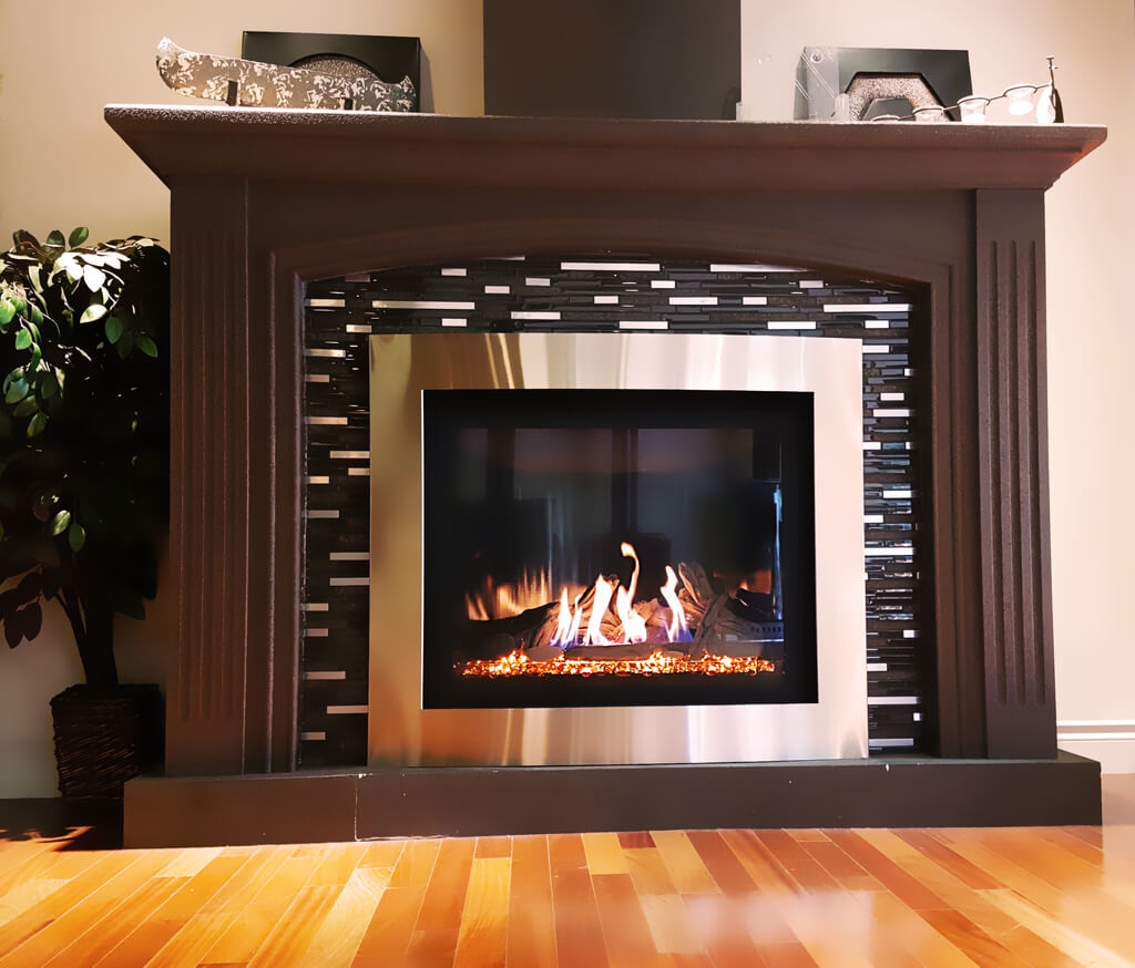 Fireplace and accessory installation services from Wood & Energy Store in Edmonton
